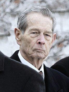 De oud-koning in 2007