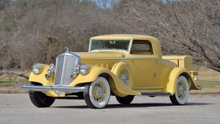 1933 Pierce-Arrow 836 Coupe