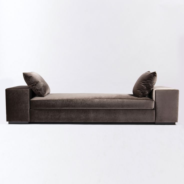 Allan KnightUpholstery | Settees Chaises and Loveseats | Van Ness Chaise : chaise bench - Sectionals, Sofas & Couches