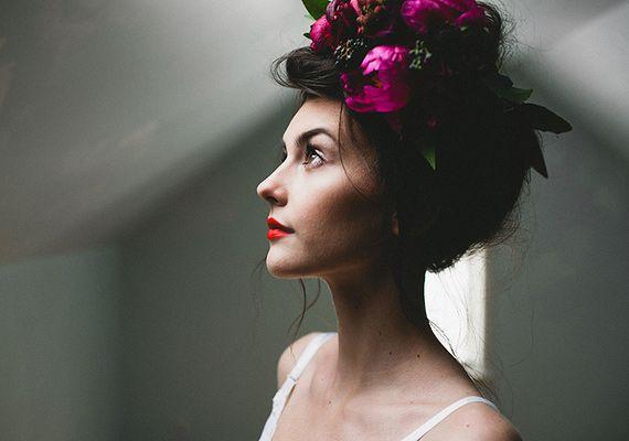 Beautiful Real Floral Bridal Headpieces