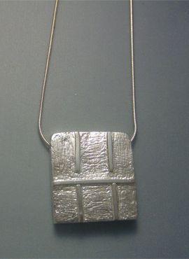 talismanes amuletos y símbolos | kin sello maya caminante del cielo Ben colgante de plata