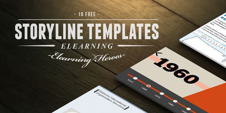10 Fresh and Free #Elearning #Templates for #Articulate Storyline