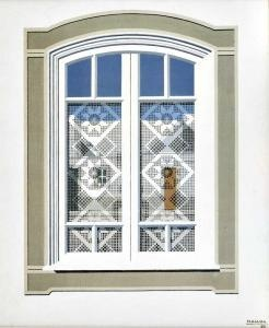 Window 1980,  by #portuguese painter Maluda