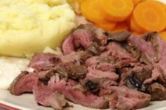Tasty London Broil Made in a Slow Cooker
