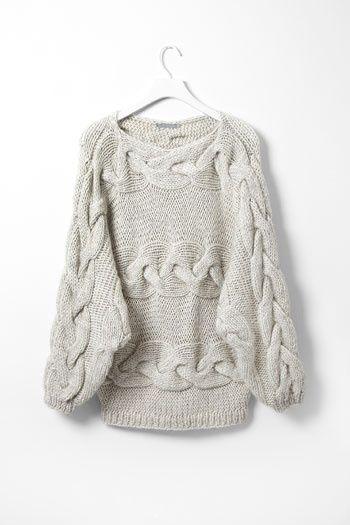chunky knit. se lo voy a pedir a mi suegra.