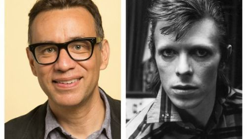 Watch: Fred Armisen fondly remembers David Bowie on...: Watch: Fred Armisen fondly remembers David Bowie on 'SNL' #SNL #SNL… #SNL