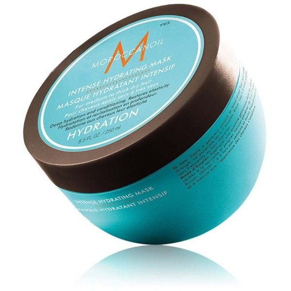 Moroccanoil Women's Intense Hydrating Mask (275 SEK) ❤ liked on Polyvore featuring beauty products, haircare, hair conditioner, no color, moisturizing mask and hydrating mask