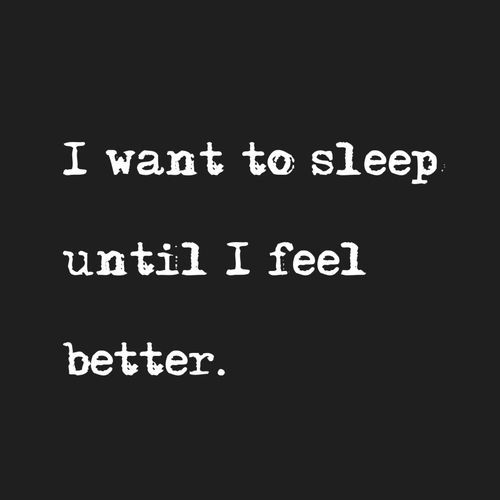 Sleep gives my mind and body healing time.