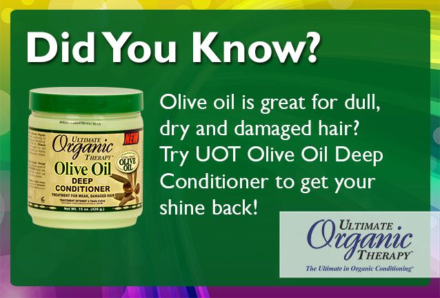 Deep conditioner is a great way to get your hair back to healthy!    More tips: www.facebook.com/UltimateOrganics