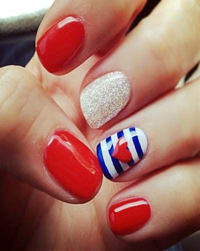 I'm going to see my boyfriend who is stationed at Camp Pendleton on the 4th of July... so obviously a trip to the nail salon is going to be necessary!