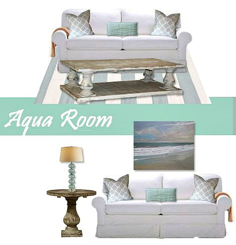 Coastal living room design ideas from aqua to navy: http://www.completely-coastal.com/2015/02/coastal-living-room-ideas-shop-the-look.html
