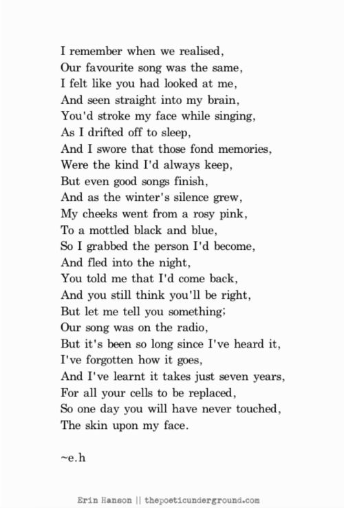 Not My Favourite Song thepoeticunderground.tumblr.com #poetry #poem