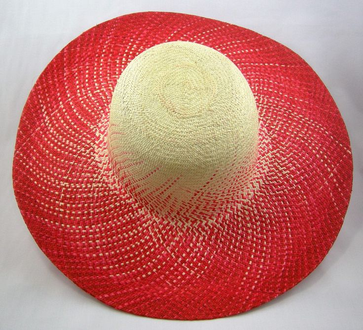 "Fade To Red ""Pava"" Womens Sun Hat - Bacano Bags and Hats"