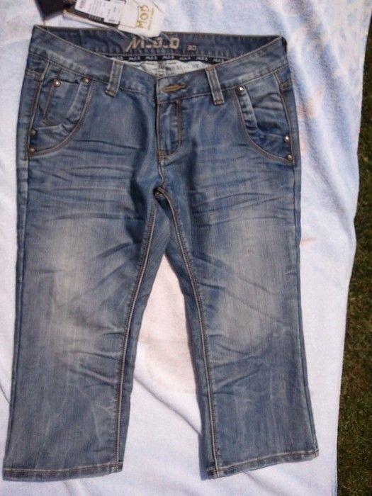 kurze Jeans M.O.D. blau