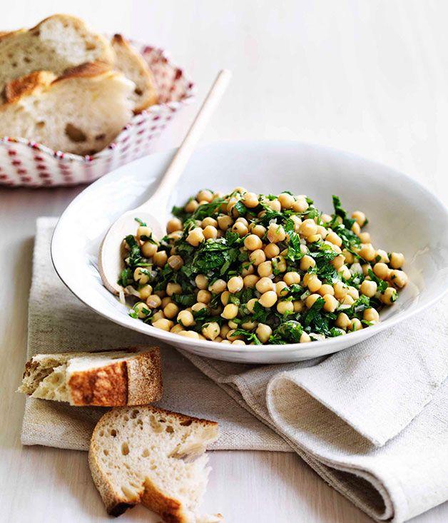 Australian Gourmet Traveller recipe for Insalata di ceci - Chickpea salad