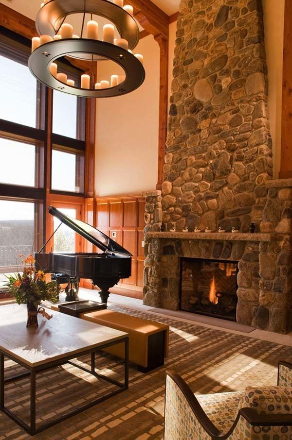 22 best Fireplaces images on Pinterest | Fireplace ideas, Stone ...