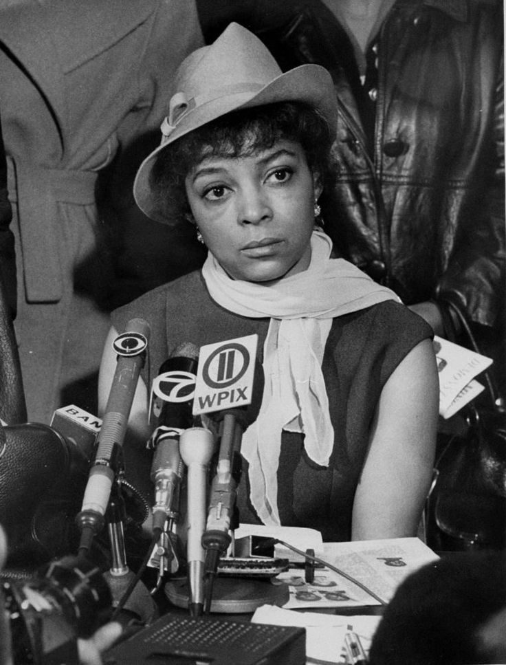 Civil Rights Activists: Ruby Dee did more than just light up the silver screen. Active in the Civil Rights Movement, she is seen attending a press conference for the relatives of 21 Black Panthers that were arrested in 1969.  (Photo by George  Mattson/NY Daily News Archive via Getty Images)