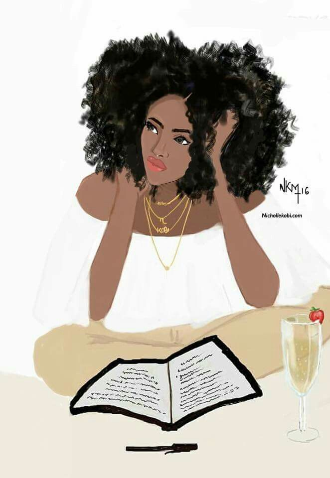 Image result for black girl climbing ladder to read art