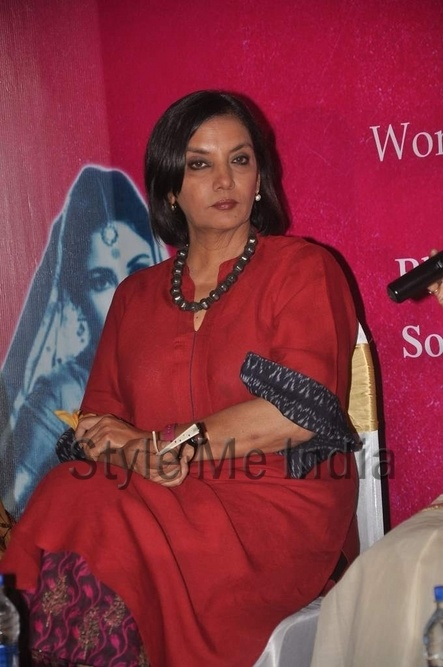 Women shouldn't be surrendering to men says Shabana Azmi http://shar.es/qmmVE