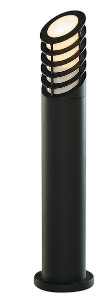 Searchlight 1086-730 Black IP44 73cm Aluminium Garden Bollard
