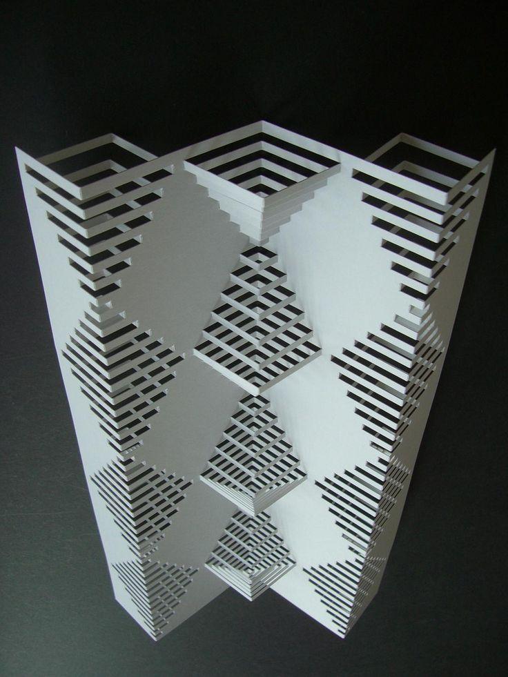 14 best popupology images on pinterest kirigami 3d for Kirigami paper art