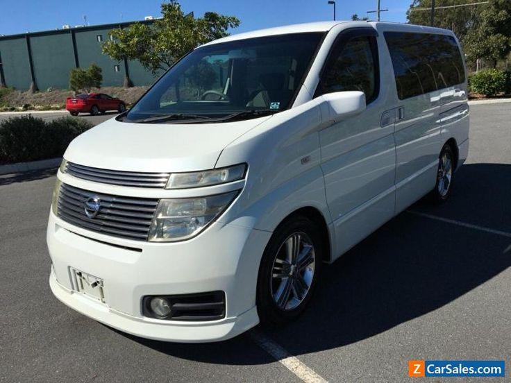 2002 Nissan Elgrand E51 Highway Star White Automatic 5sp A Wagon #nissan #elgrand #forsale #australia