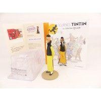 Figurine collection officielle Tintin n°50 Whang Jen Ghié se présente