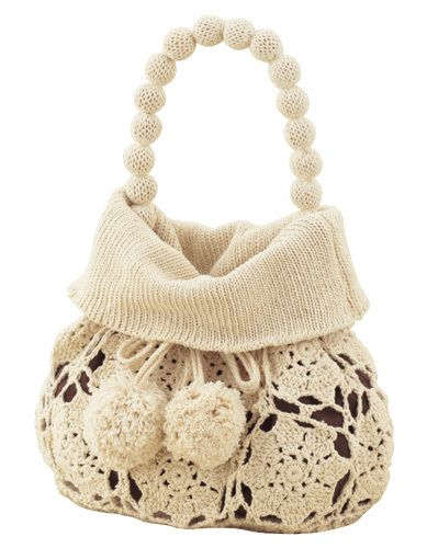 Hook enchanted P'tit knitting & crochet bag