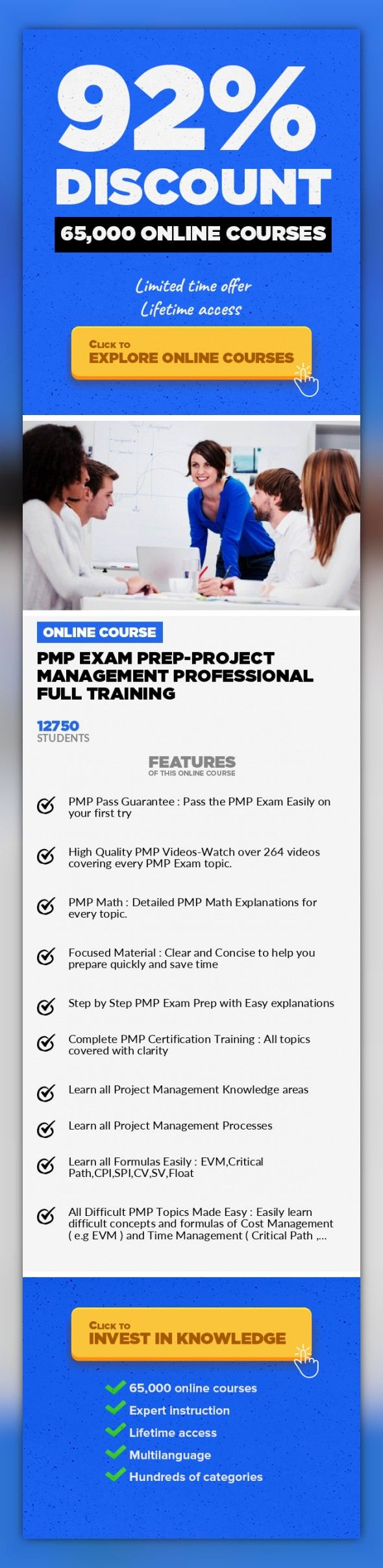 Pmp Online Certification Training Gallery Creative Certificate