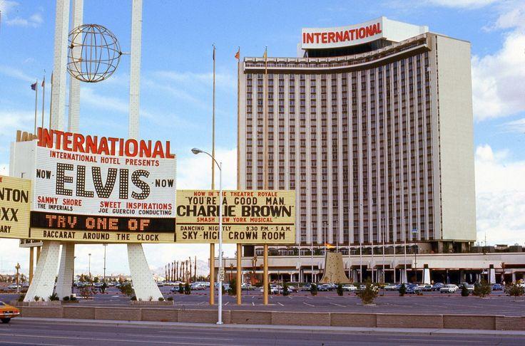 las vegas international hotel history