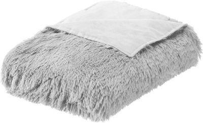 <p>Genau richtig für kuschelige Stunden in Ihrem Zuhause ist diese flauschig weiche<b>Kuscheldecke</b>. Die ca.<b>130 x 180 cm (B x L)</b>große Decke aus 100 %<b>Polyester</b>in zartem<b>Hellgrau</b>ist dank seiner wuscheligen Oberfläche besonders<b>anschmiegsam</b>und ist stets zur Hand am Sofa oder Bett. Sie können die Kuscheldecke per<b>Handwäsche</b>waschen.</p><p>Gönnen Sie sich diese tolle Kuscheldecke und machen Sie es sich in Ihrem Zuhause so richtig gemütlich.</p>