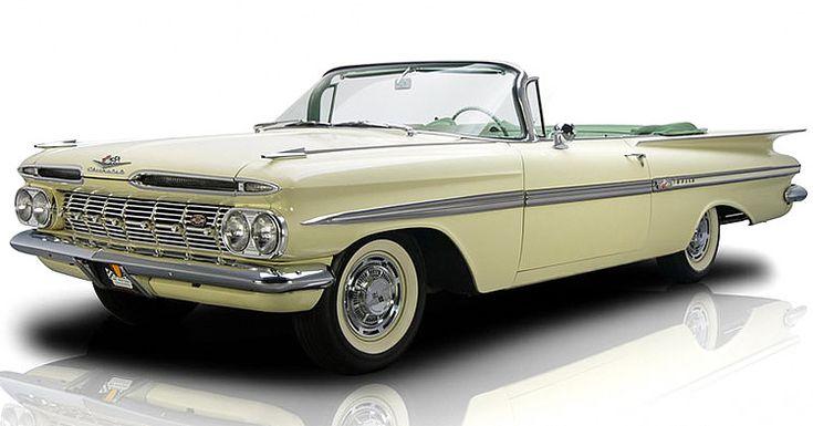1959 Chevrolet Impala Convertible