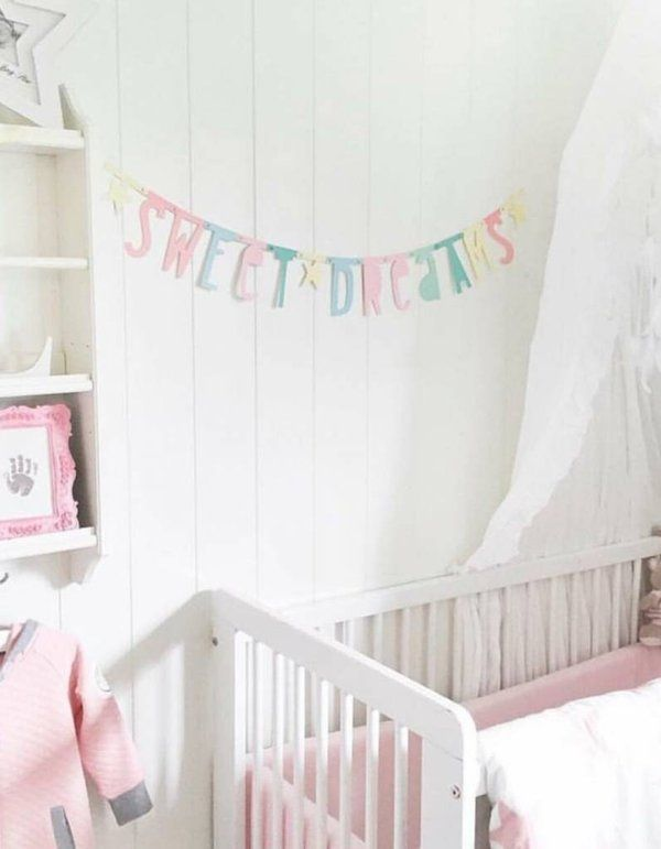 Image of Letter Banner-pastel