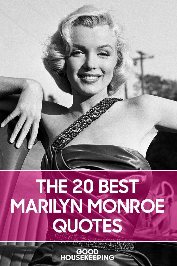 Never Forget Marilyn's Words