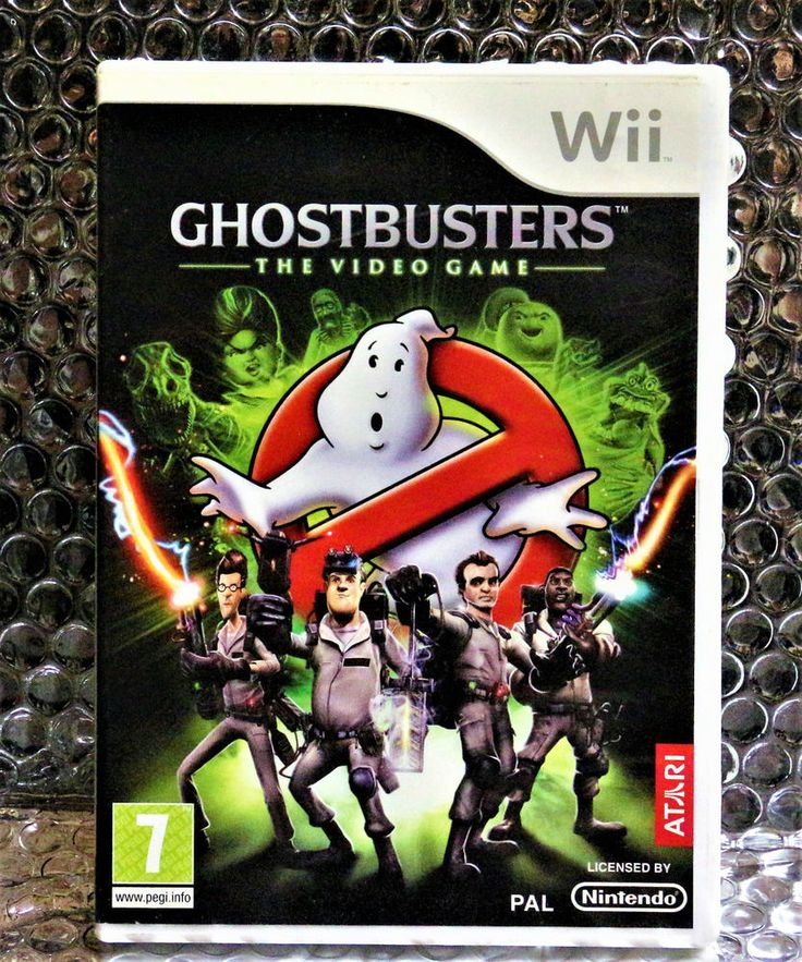Ghostbusters: The Video Game (Wii), Good Condition Nintendo Wii, Nintendo Wii