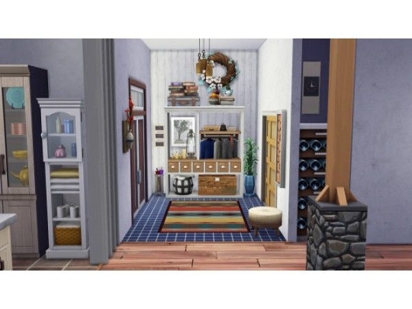 Winter Family Apartments By Thesummerannj No Cc The Sims 4