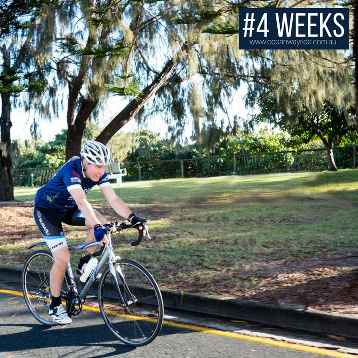 4 weeks to go! It's getting closer! Make sure you've registered for this year's Jewel Residences Oceanway Ride - have a look at our website for more information.