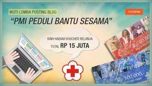 """#LombaBlog #BulanDanaPMI #PalangMerahIndonesia Lomba Blog """"Bulan Dana PMI"""" 2015 Berhadiah Total 15 Juta Rupiah  DEADLINE: 31 Desember 2015  http://infosayembara.com/info-lomba.php?judul=lomba-blog-bulan-dana-pmi-2015-berhadiah-total-15-juta-rupiah"""