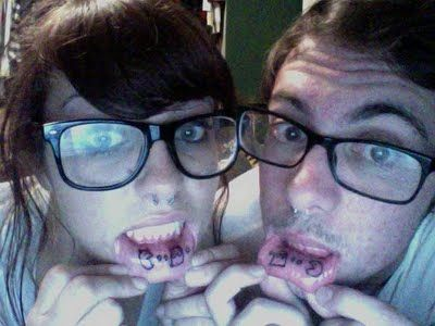 14 couples who got matching tattoos they're doomed to regret.