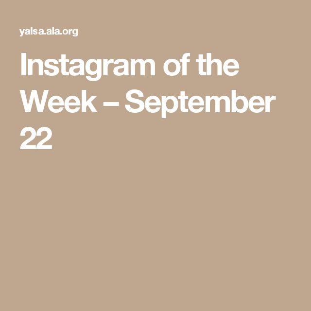 Instagram of the Week – September 22