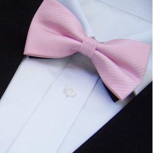 Nœud-papillon rose-clair