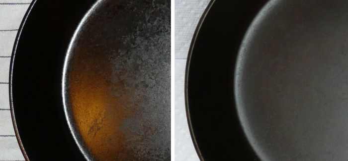 Cast iron care- the sciencw behind it.