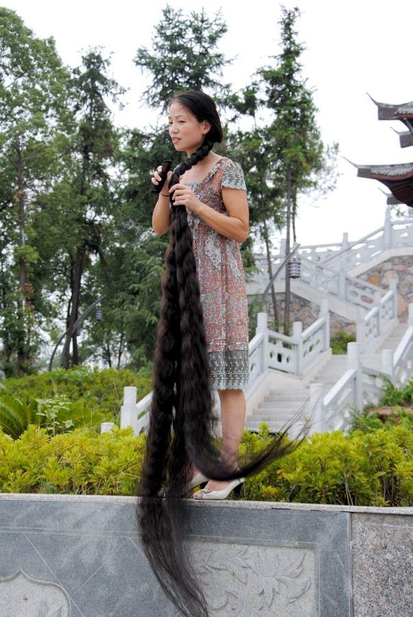 Xia Aifeng - More then floor legth hair