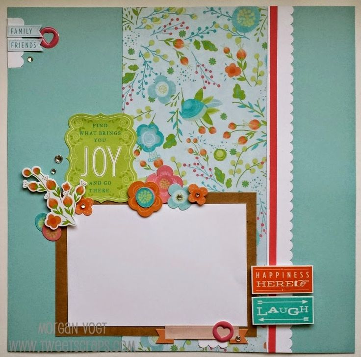 TweetScraps: Seasonal Expressions 2 Artwork - Blossom Layout (Win Me!)