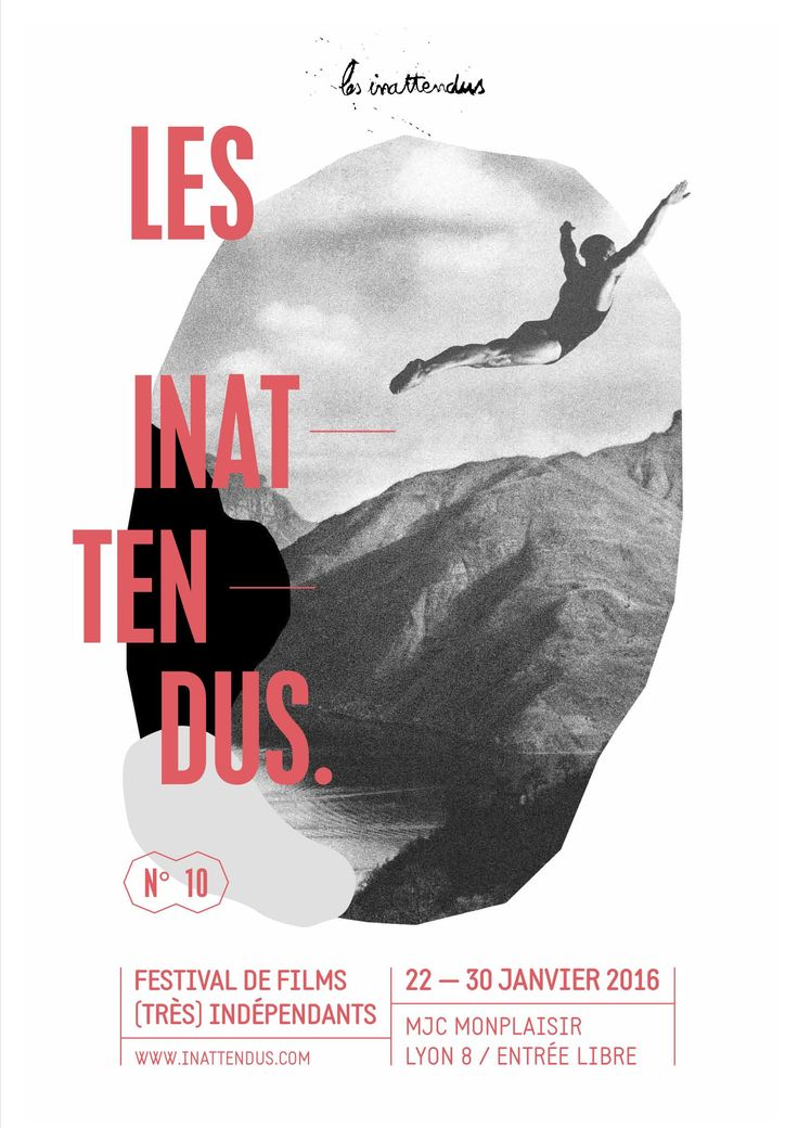 Les inattendus 2016, festival de films (très) indépendants, Lyon #festival https://fr.pinterest.com/igreka2n/festival/