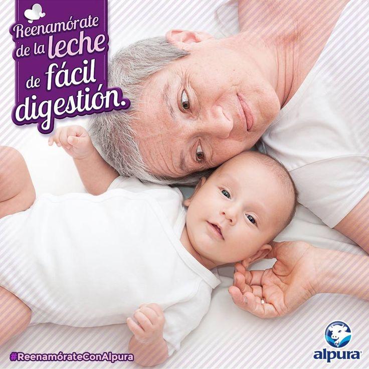 ¿Sabías que la intolerancia a la lactosa suele ser más común en bebés y adultos mayores? Sin embargo, nadie está exento a esta condición. Conoce más en http://bit.ly/1S9nTjQ y #ReenamórateConAlpura