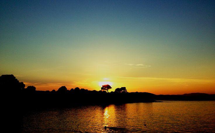 sunset in Vourvourou