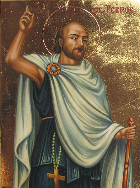 Saint Petroc  son of King Glywys of Wales and founder of monasteries in  Cornwall