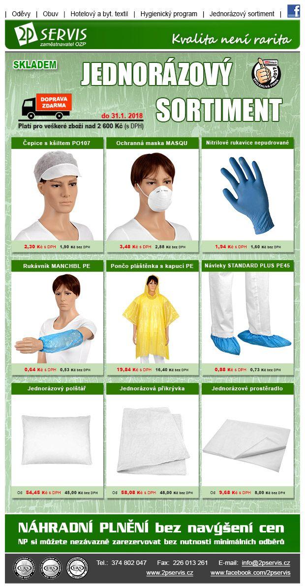 ★ ★ V práci i doma využijete naše jednorázové oděvy - Nejširší nabídka★ ★