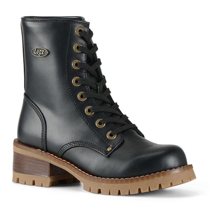 Lugz Tamar Women's Combat Boots, Size: medium (7.5), Black
